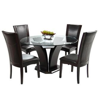 Daisy Brown 5-Piece Dining Set