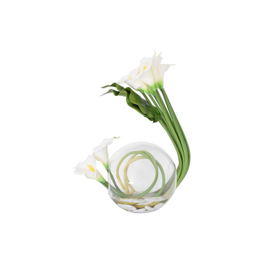 Crosswinds White Flower Arrangement  main image, 1 of 6 images.