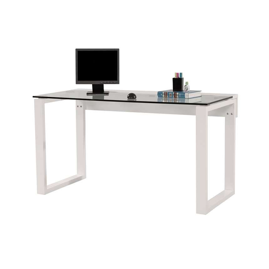 Bellmar White Desk  main image, 1 of 3 images.