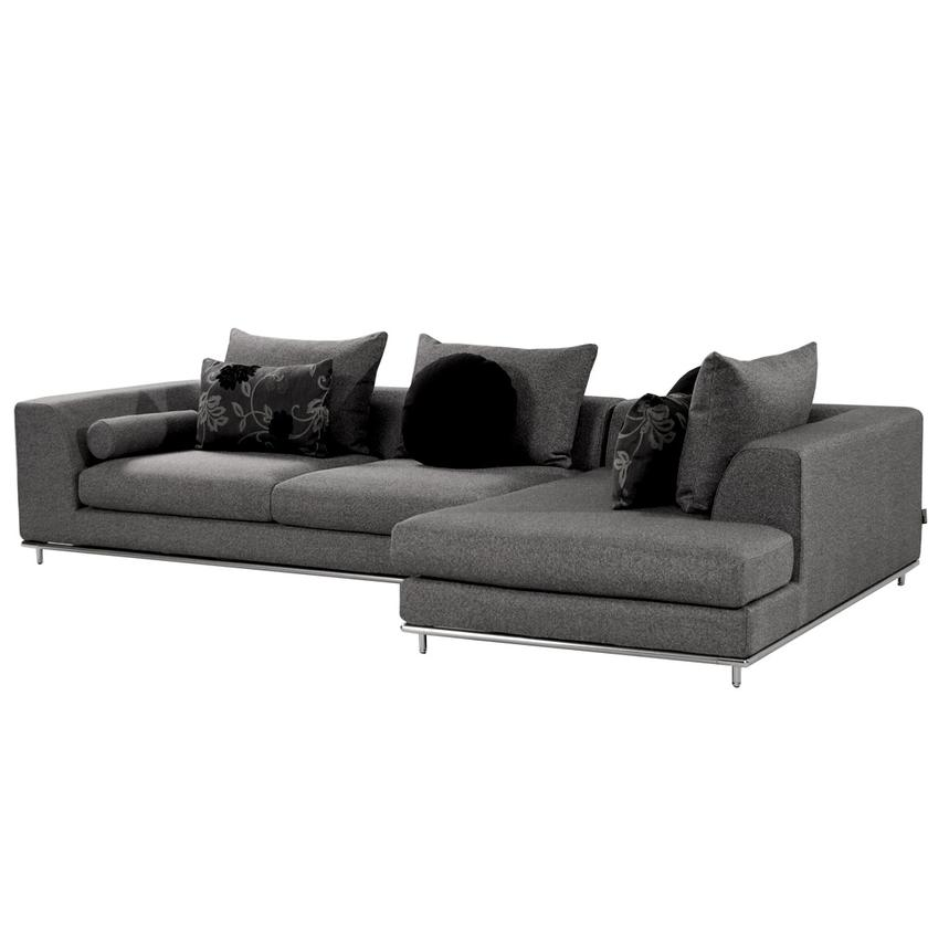 Henna Sectional Sofa w/Right Chaise  main image, 1 of 6 images.