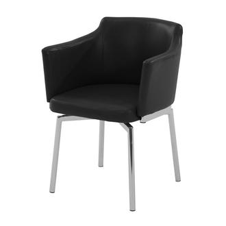 Dusty Black Arm Chair