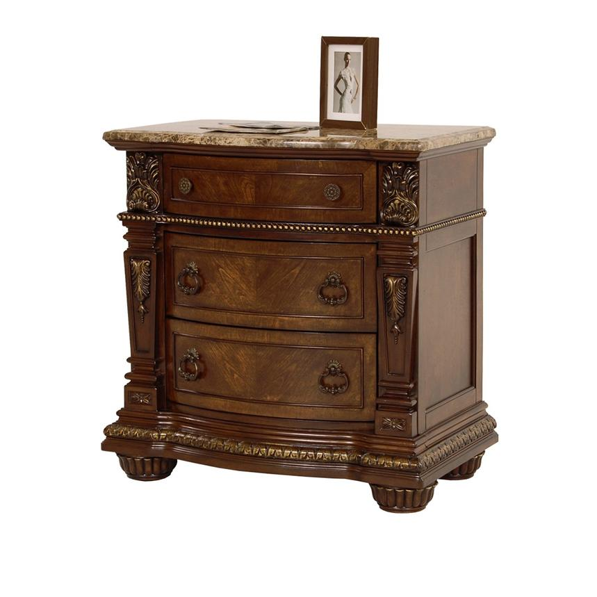 Coventry Tobacco Nightstand  main image, 1 of 8 images.