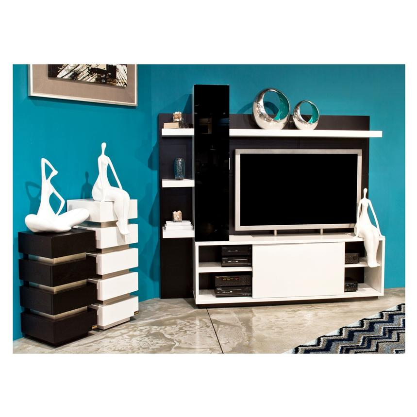 Beach White Wall Unit El Dorado Furniture