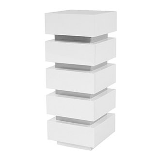 Grace White Large Pedestal