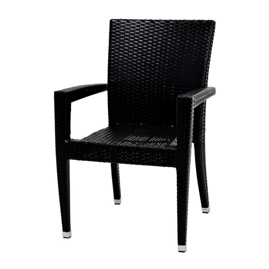Neilina Black Dining Chair  alternate image, 2 of 5 images.