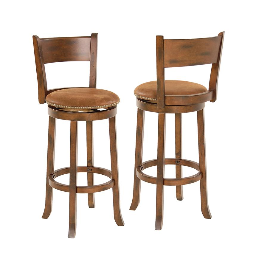 Santa Fe Swivel Bar Stool El Dorado Furniture