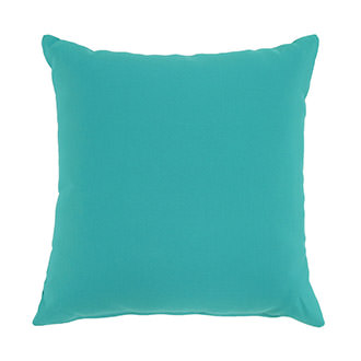 Aqua Outdoor Pillow