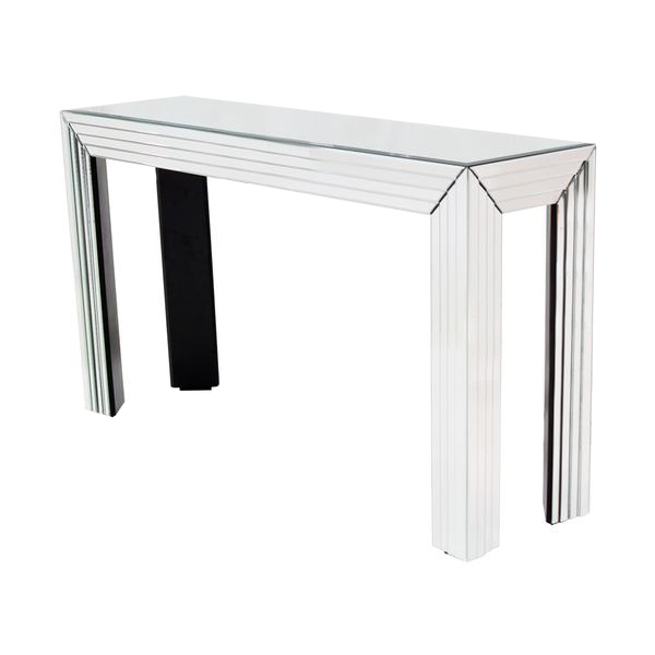 Dex Mirrored Console Table  main image, 1 of 5 images.