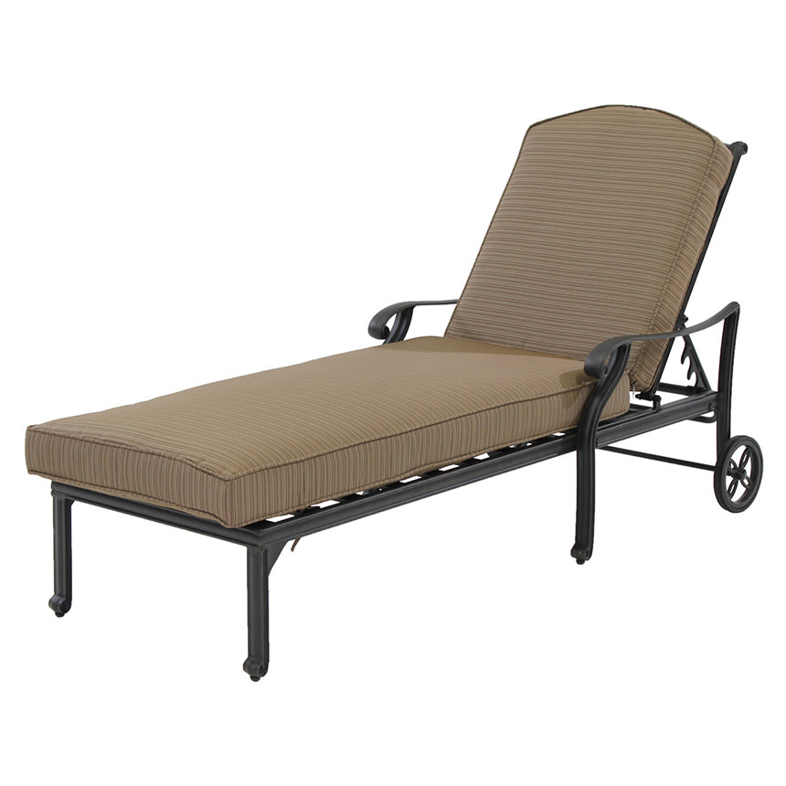 Castle Rock Brown Chaise Lounge El