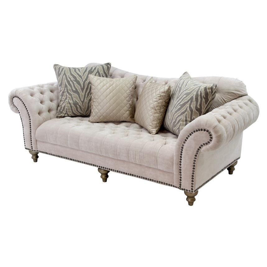 Laura Cream Sofa El Dorado Furniture