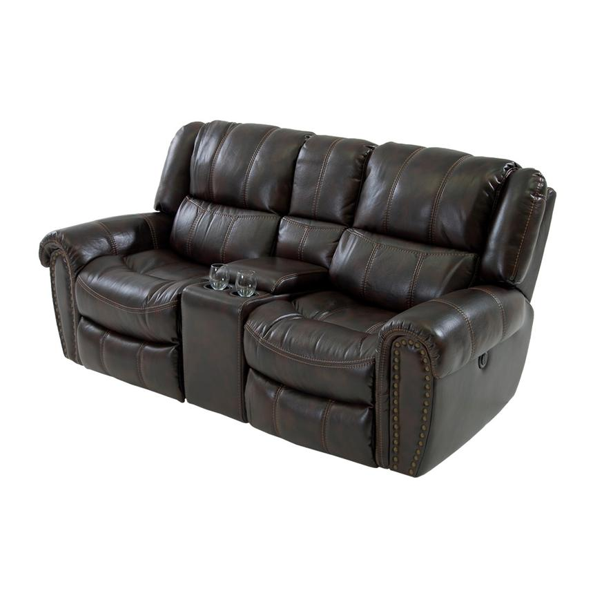 Paterson Power Motion Sofa w/Console  main image, 1 of 6 images.