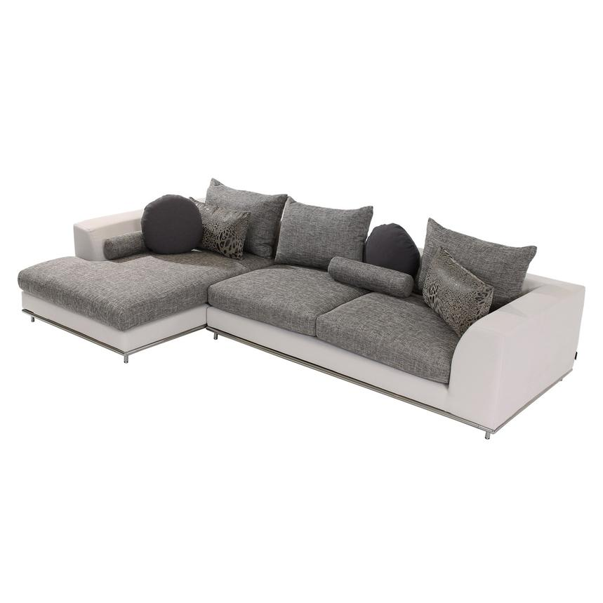 Hanna Sectional Sofa w/Left Chaise  main image, 1 of 6 images.