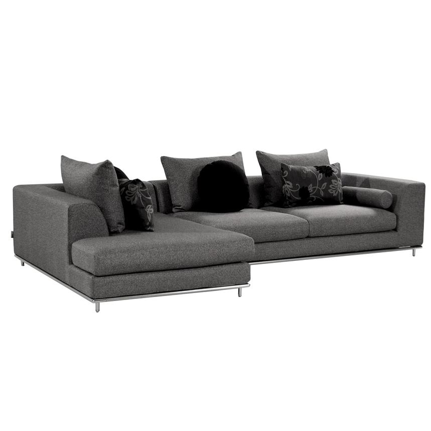 Henna Sectional Sofa w/Left Chaise  main image, 1 of 6 images.