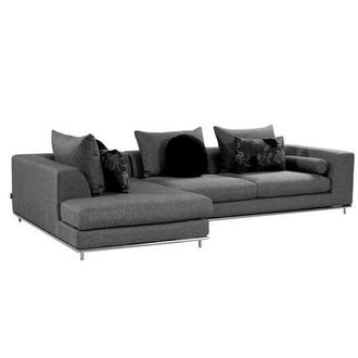 Henna Sofa w/Left Chaise