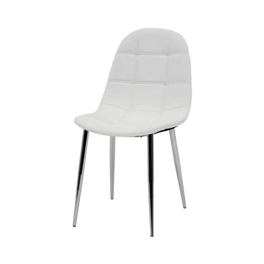 Clotus White Side Chair  alternate image, 2 of 3 images.