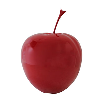 X-Large Red Apple Table Decor
