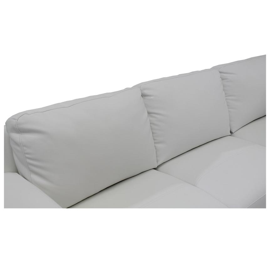 Cantrall White Corner Sofa w/Right Chaise  alternate image, 6 of 9 images.