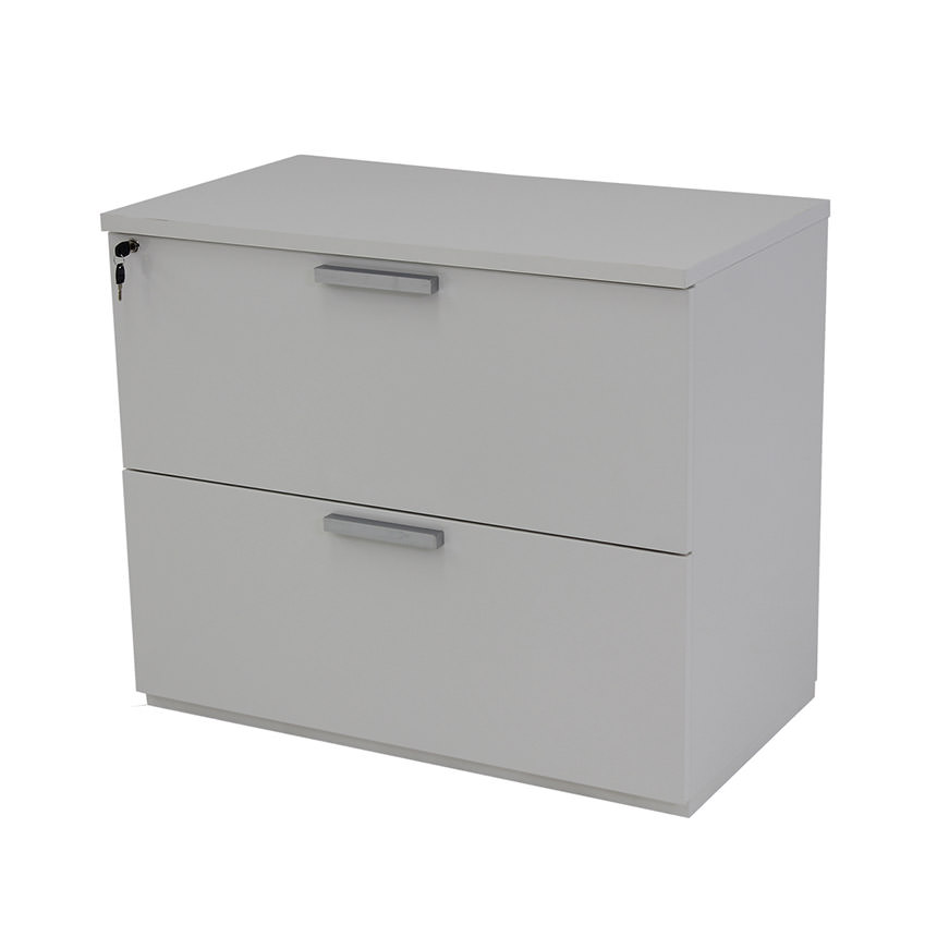 Sedona White Lateral File Cabinet Made in Italy  main image, 1 of 5 images.