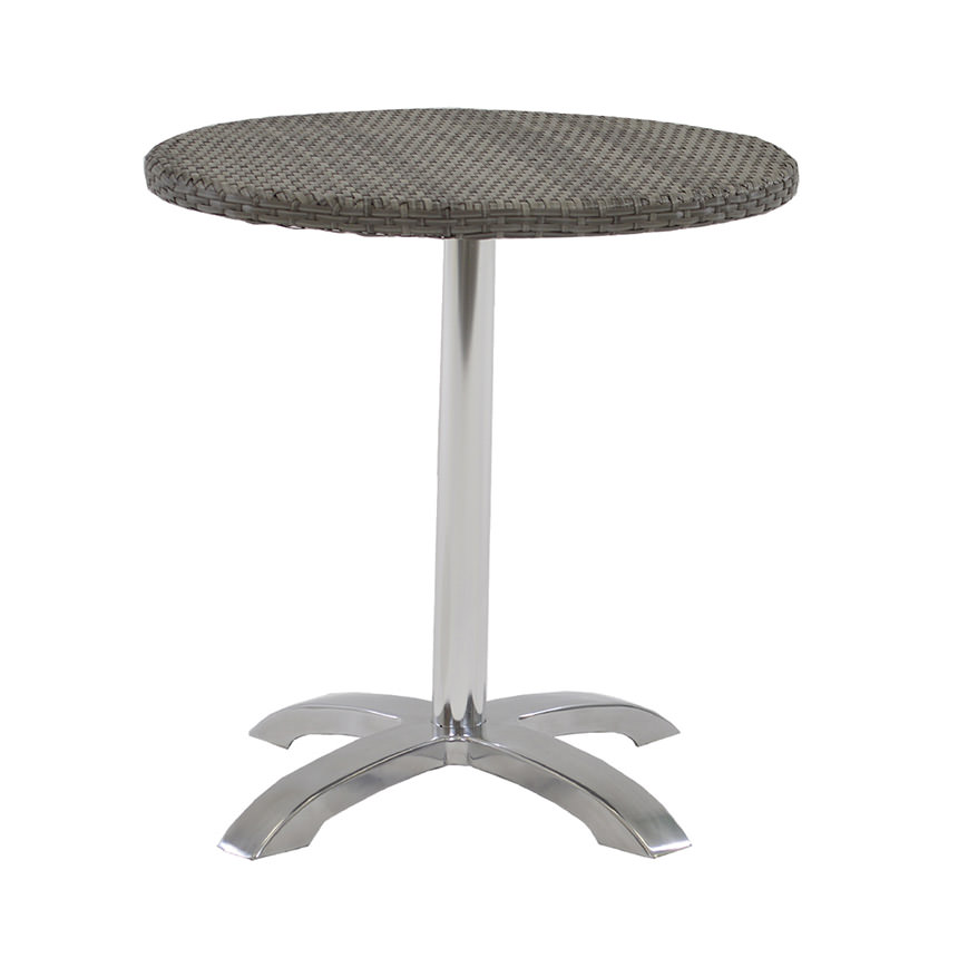 Gerald Gray Round Dining Table  main image, 1 of 3 images.