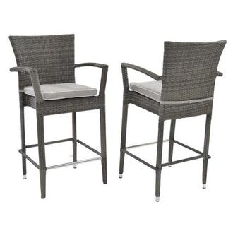 Neilina Gray Bar Stool