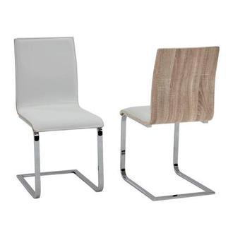 Solimar White Side Chair