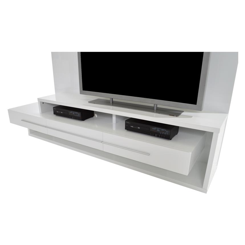 Avanti White Wall Unit  alternate image, 6 of 7 images.