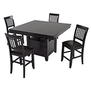 Jennings 5-Piece High Dining Set  main image, 1 of 11 images.