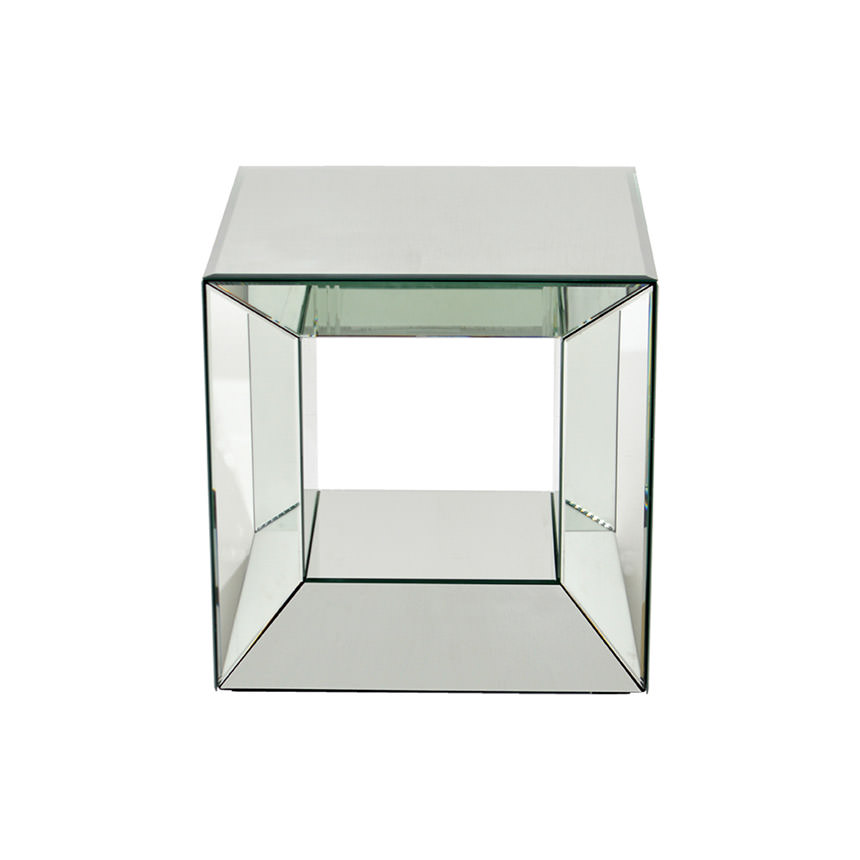 Oleta Mirrored Side Table  alternate image, 2 of 3 images.