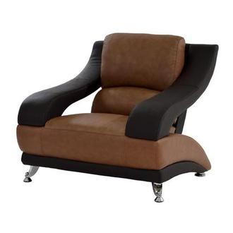 Jedda Camel Leather Chair