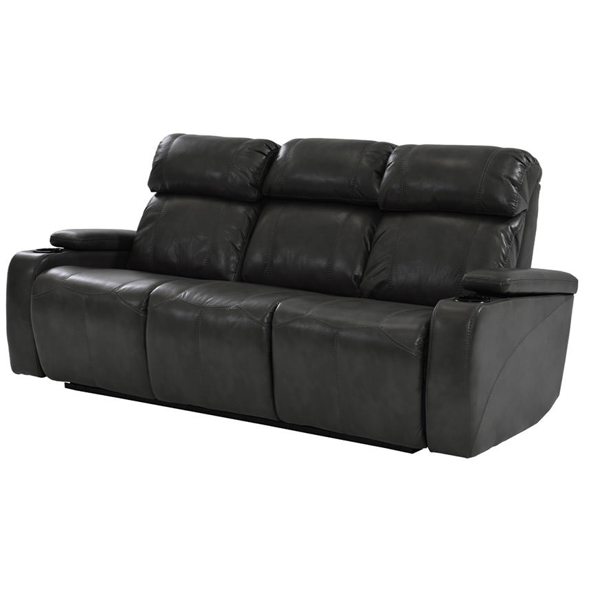 Magnetron Black Power Motion Sofa El Dorado Furniture
