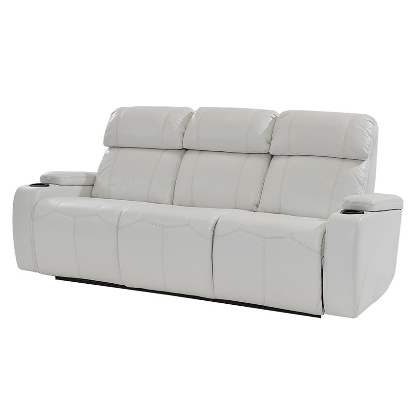 Magnetron White Power Motion Sofa  main image, 1 of 9 images.