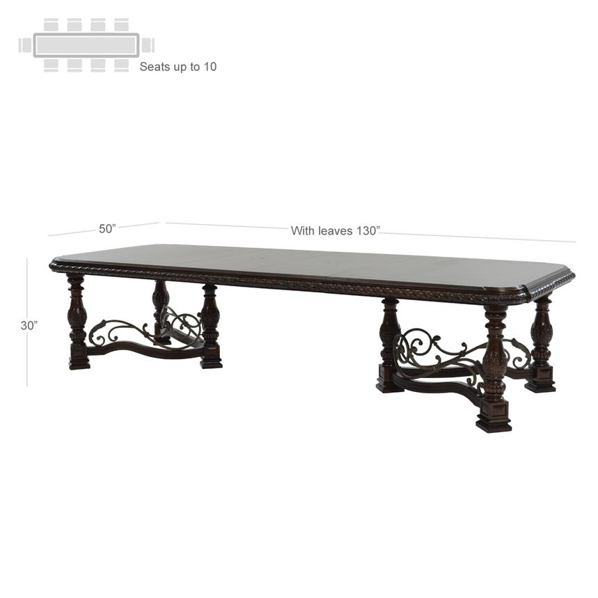 Opulent 5-Piece Formal Dining Set  alternate image, 6 of 17 images.