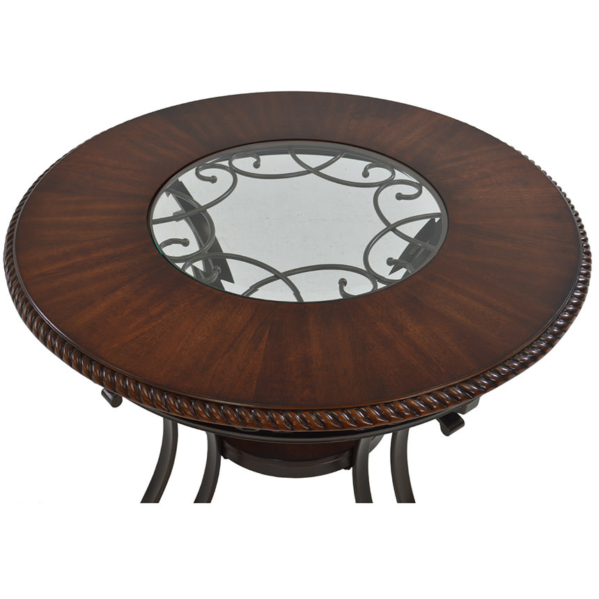 Glambrey Round Dining Table  alternate image, 2 of 4 images.