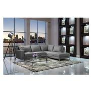 Cantrall Dark Gray Corner Sofa w/Right Chaise  alternate image, 2 of 8 images.