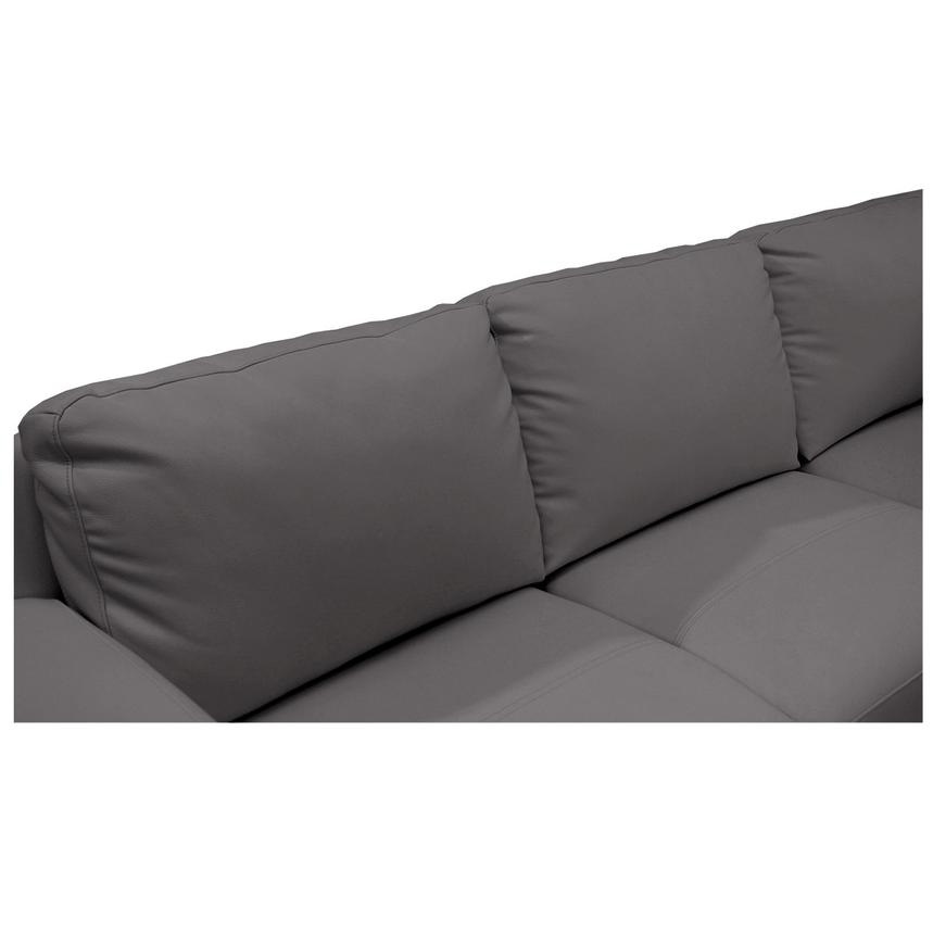 Cantrall Dark Gray Corner Sofa w/Right Chaise  alternate image, 5 of 8 images.