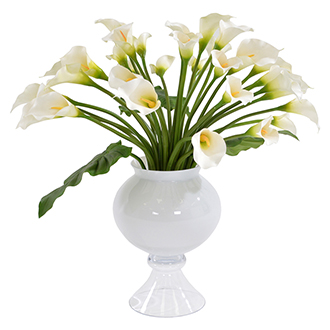 Bouquet of White Lilies Flower Arrangement