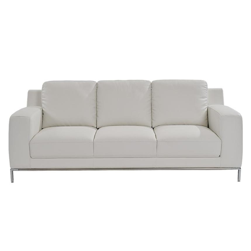 Cantrall White Sofa  alternate image, 2 of 6 images.