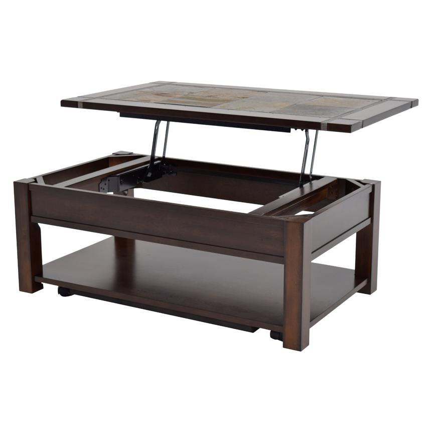 Roanoke Lift Top Coffee Table W Casters Main Image 1 Of 5 Images