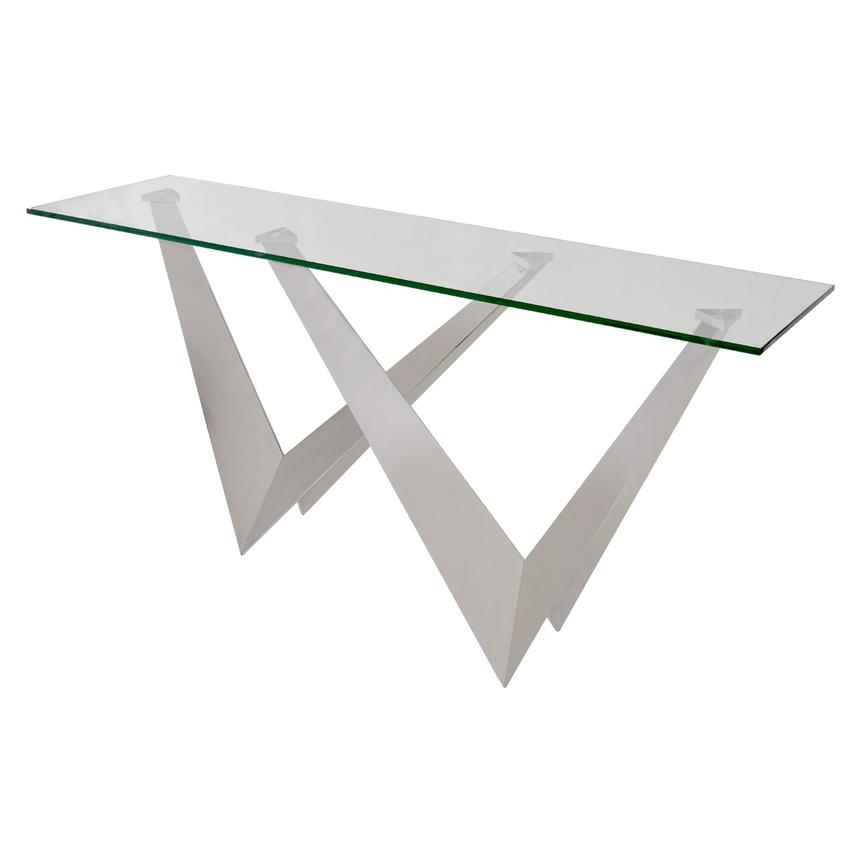 The W Console Table  main image, 1 of 4 images.