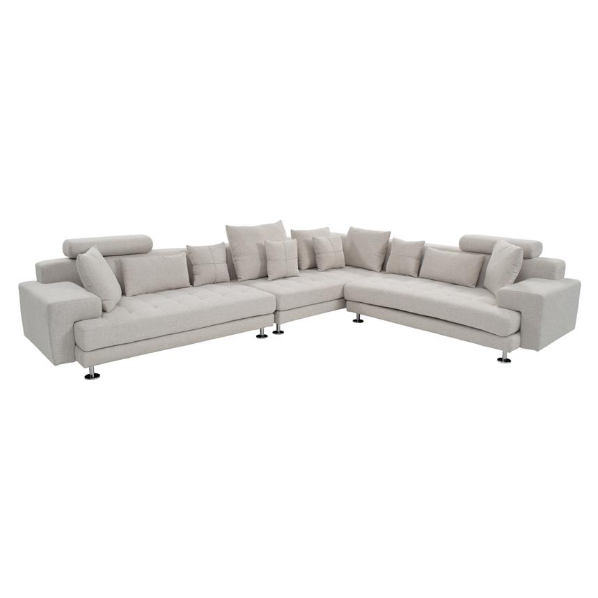 Luciano Sectional Sofa  main image, 1 of 6 images.