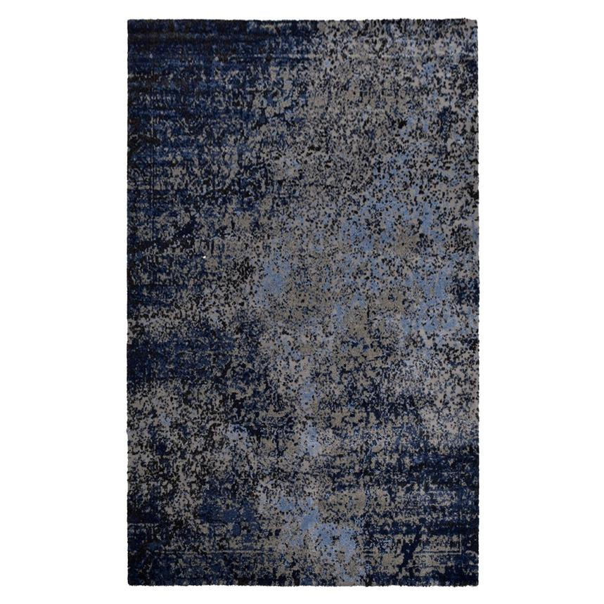 Viera Blue 5' x 8' Area Rug  main image, 1 of 4 images.