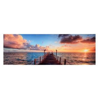 Sunrise at the Pier Acrylic Wall Art