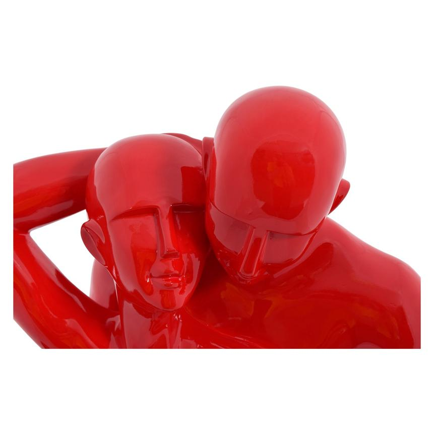 Couple in Love Red Sculpture  alternate image, 2 of 2 images.