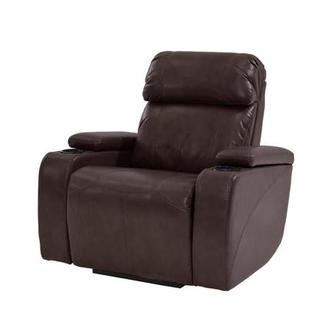 Magnetron Brown Power Motion Recliner