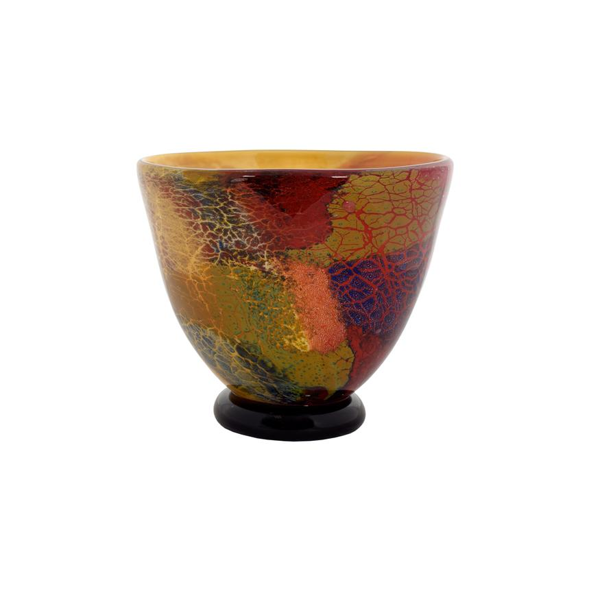 Firestorm II Glass Vase  main image, 1 of 3 images.