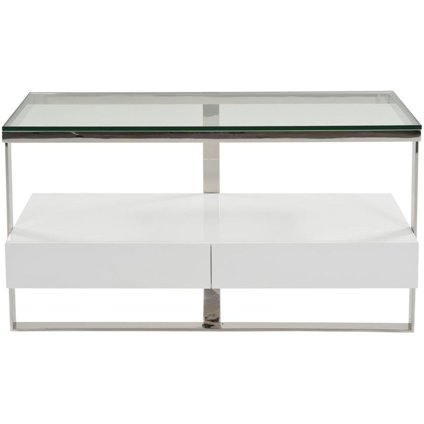 Calypso White Console Table  main image, 1 of 5 images.