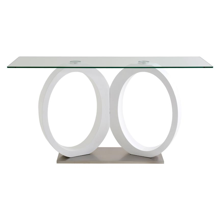 Stop 36 White Console Table  alternate image, 2 of 4 images.