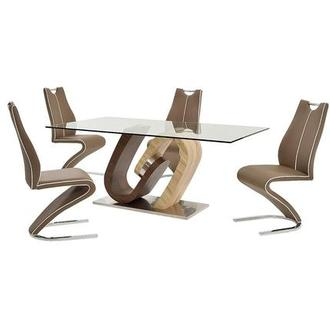 Serpentine 5-Piece Dining Set
