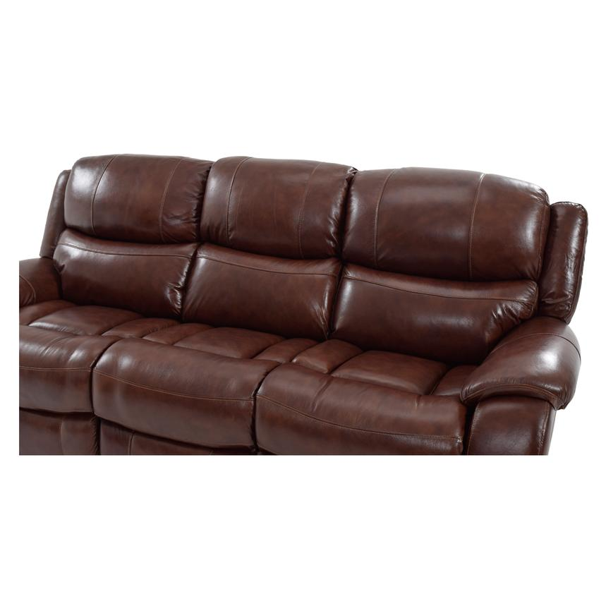 Abilene Leather Power Reclining Sofa  alternate image, 5 of 8 images.