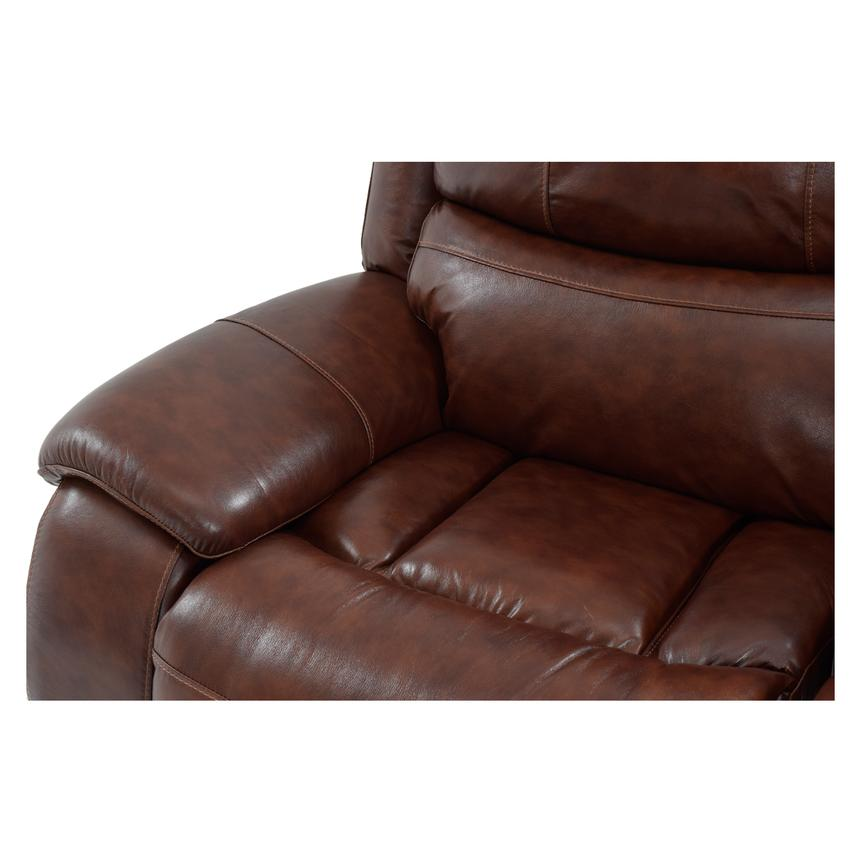Abilene Leather Glider Recliner  alternate image, 7 of 9 images.